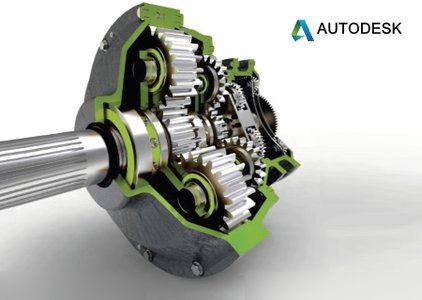 An illustration of Autodesk Autocad Mechanical Software