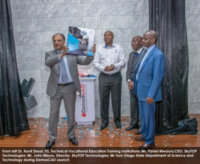 The Official Launch of SkyTOP DemosCAD at UoN
